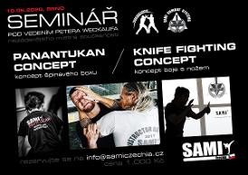 Seminář PANATUKAN a Knife Fighting Concept